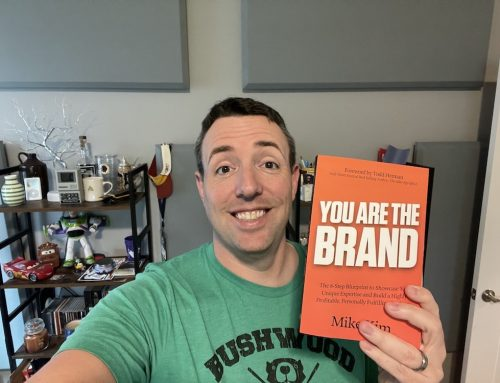 095: Book review, Mike Kim's You Are The Brand